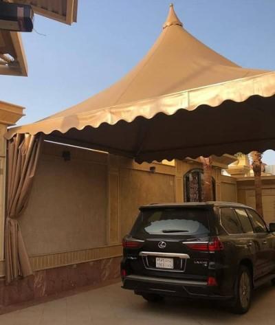 أفضل انواع مظلات السيارات في الرياض
