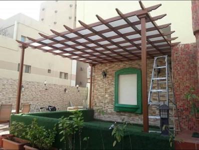 عمل مظلات حدائق في الرياض