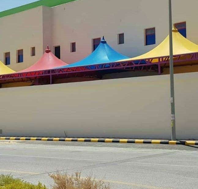 تركيب مظلات مدارس بالرياض - مظلات ساحات المدارس