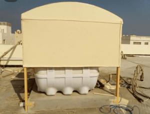 مظلات خزانات المياه بالرياض