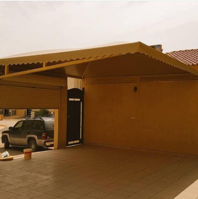 تركيب مظلات فوق الأبواب بالرياض – مظلات مداخل البيوت والمنازل جديدة