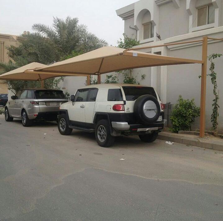 مظلات سيارات تركيب بأرخص سعر للمتر