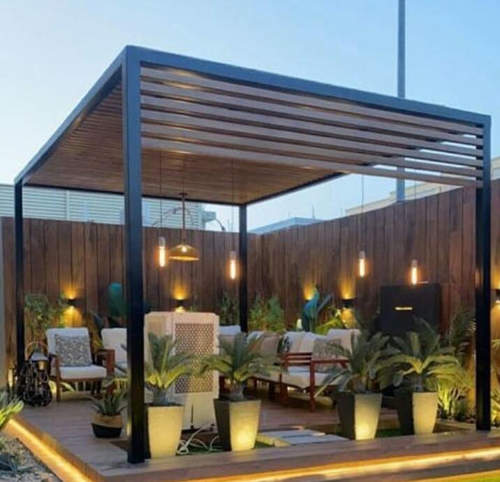 تركيب مظلات أسطح في الرياض تغطية سطح المنزل