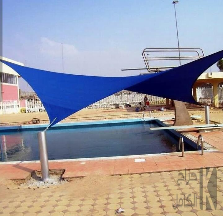مظلات تغطية مسابح لكسان وقماش تصاميم جديدة بالرياض