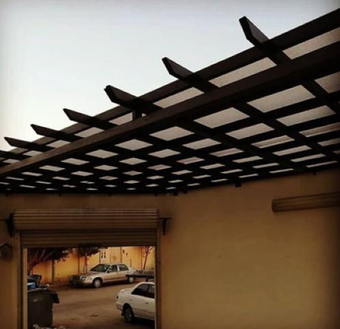 مظلات أبواب منازل – تركيب مظلة مداخل