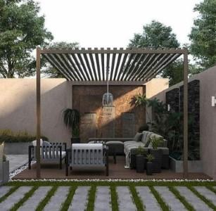 مظلات تزين حدائق – مظلات خشب وحديد أسعار مظلات رخيصة