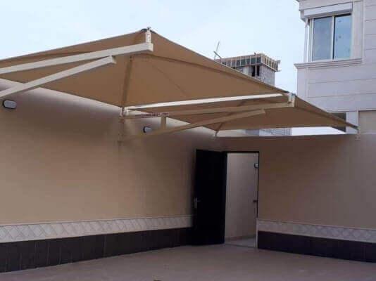 مظلات حي النرجس الرياض تركيب افضل انواع المظلات