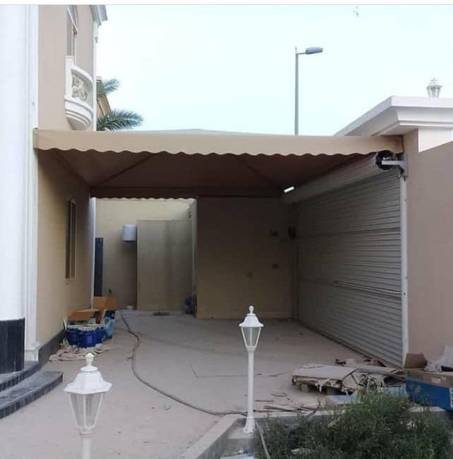 حداد مظلات وبرجولات شرق الرياض