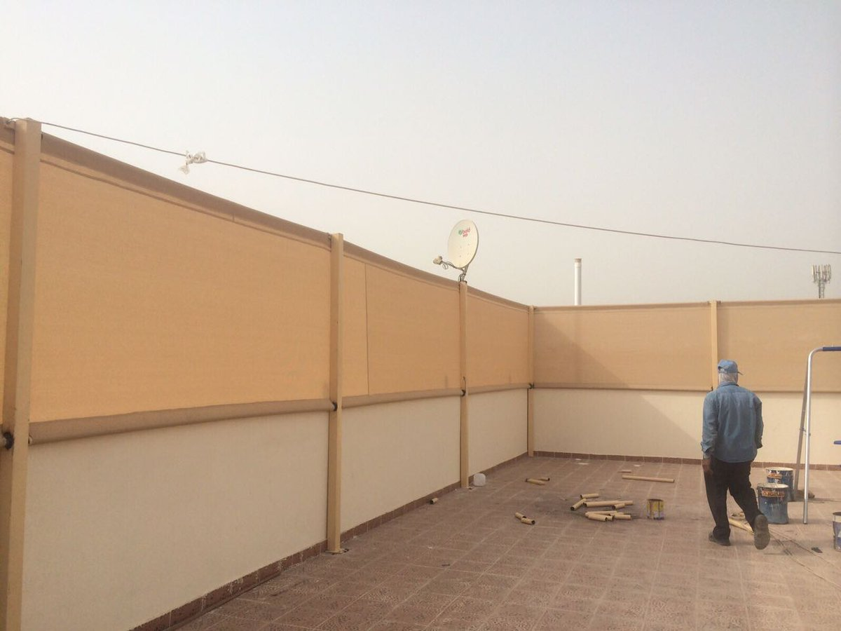تركيب سواتر قماش في الرياض